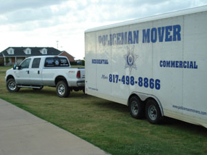 Dallas Texas Moving Company - Dallas Movers, Fort Worth Movers, Southlake moving company, Keller Movers, policeman movers