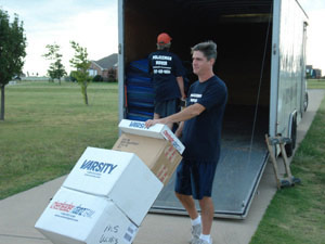 Dallas Texas Moving Company - professional movers in the Dallas-Fort Worth Metroplex specializing in residential Dallas moving